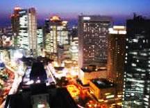 柏市の夜景